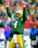 Brett Favre 1996 Action Photo