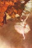 Edgar Germain Hilaire Degas (The Prima Ballerina) Poster Prints by Edgar Degas