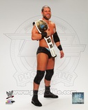 Curtis Axel with the Intercontinental Championship Belt 2013 Posed Photo