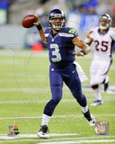 Russell Wilson 2013 Action Photo