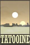 Tatooine Retro Travel Prints
