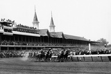 Kentucky Derby Horse Racing 1960 Archival Photo Poster Photo