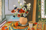 Henri Matisse Les Anemones Flowers Poster アートポスター : アンリ・マティス