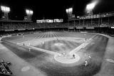 Tiger Stadium Detroit Tigers Black White Archival Photo Poster Photo