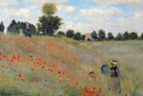 Claude Monet Poppies Art Print Poster Poster by Claude Monet