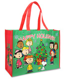Peanuts - Happy Holidays Large Tote Bag Tote Bag
