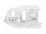 Aisle of Milk & Honey - New Yorker Cartoon Premium Giclee Print by Edward Steed