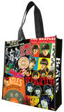 The Beatles Albums Large Recycled Shopper Tote Bag Tote Bag