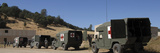 U.S. Army Ambulance Units Participate in a Simulated Evacuation Scenario Photographic Print by Stocktrek Images
