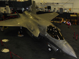 An F-35B Lightning II Is Secured in the Hangar Bay Aboard USS Wasp Photographic Print by Stocktrek Images