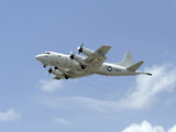 A P-3C Orion Aircraft Takes Off from Marine Corps Base Hawaii Photographic Print by Stocktrek Images