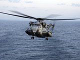 An MH-53E Sea Dragon in Flight Over the Pacific Ocean Photographic Print by Stocktrek Images