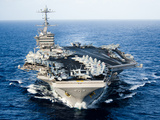 USS John C. Stennis Transits the Pacific Ocean Photographic Print by Stocktrek Images