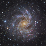 NGC 6946, a Spiral Galaxy in Cepheus Photographic Print by Stocktrek Images