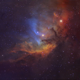 The Tulip Nebula (Sh2-101) in Cygnus Photographic Print by Stocktrek Images
