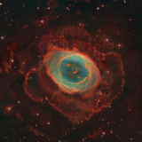 Messier 57, the Ring Nebula Photographic Print by Stocktrek Images