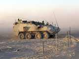 A LAV III Infantry Fighting Vehicle in Afghanistan Photographic Print by Stocktrek Images