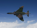 A QF-4E Aircraft Flies Over the Gulf of Mexico Photographic Print by Stocktrek Images