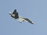 A Sukhoi Su-30MKM of the Royal Malaysian Air Force in Flight Photographic Print by Stocktrek Images