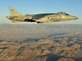 An AV-8B Harrier Conducts a Test Flight Using a Biofuel Blend Photographic Print by Stocktrek Images