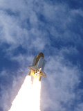 Space Shuttle Atlantis Lifts Off from Its Launch Pad at Kennedy Space Center, Florida Photographic Print by Stocktrek Images