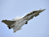 A Dassault Rafale of the French Air Force in Flight Over Malaysia Photographic Print by Stocktrek Images