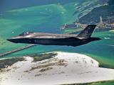 An F-35 Lightning II Flies Over Destin, Florida Photographic Print by Stocktrek Images
