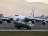 An Antonov An-124 Aircraft Taking Off from Sofia Airport, Bulgaria Photographic Print by Stocktrek Images