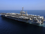 The Nimitz-class Aircraft Carrier USS John C. Stennis Stampa fotografica di Stocktrek Images