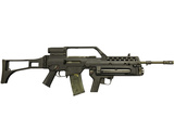 Heckler & Koch G36 Assault Rifle Photographic Print by Stocktrek Images