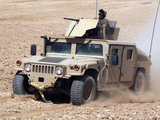 A Humvee Cruises Up a Dusty Slope During a Perimeter Patrol Photographic Print by Stocktrek Images