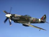 Supermarine Spitfire Mk. XVIII Fighter Warbird Photographic Print by Stocktrek Images