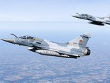 Mirage 2000C of the French Air Force Photographic Print by Stocktrek Images