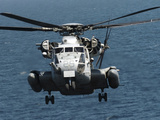 A U.S. Marine Corps CH-53E Super Stallion Helicopter Photographic Print by Stocktrek Images