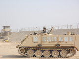Soldiers Patrol in An M-113 Armored Personnel Carrier Photographic Print by Stocktrek Images