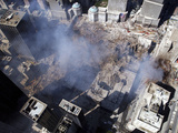Aerial View of the Destruction Where the World Trade Center Collapsed Photographic Print by Stocktrek Images
