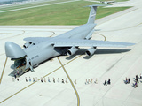 People Line Up To Enter the 445th Airlift Wing's First C-5 Galaxy Photographic Print by Stocktrek Images