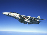 U.S. Navy F-14A Tomcat in Flight Photographic Print by Stocktrek Images