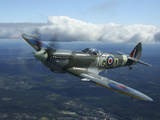 Supermarine Spitfire Mk.XVI Fighter Warbird of the Royal Air Force Photographic Print by Stocktrek Images