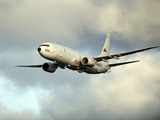 A P-8A Poseidon in Flight Photographic Print by Stocktrek Images