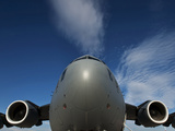 Low Angle View of a C-17 Globemaster III Photographic Print by Stocktrek Images