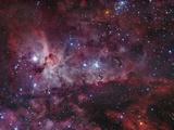 NGC 3372, the Eta Carinae Nebula Reprodukcja zdjęcia autor Stocktrek Images