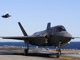 F-35B Lighnting II Variants Land Aboard the Flight Deck of USS Wasp Photographic Print by Stocktrek Images