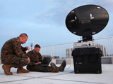 U.S. Marines Set Up a Satellite System Photographic Print by Stocktrek Images