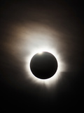 Solar Eclipse with Diamond Ring Effect, Queensland, Australia Photographic Print by Stocktrek Images