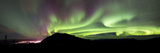 Aurora Borealis Over Gray Peak, Whitehorse, Yukon Canada Photographic Print by Stocktrek Images