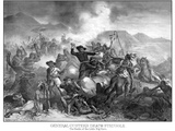 Digitally Restored Vintage Military Print Featuring the Battle of Little Bighorn Photographic Print by Stocktrek Images