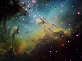 M16 the Eagle Nebula Photographic Print by Stocktrek Images