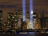 The Tribute in Light Memorial Photographic Print by Stocktrek Images