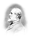 Vintage Civil War Print of General Robert E. Lee Photographic Print by Stocktrek Images